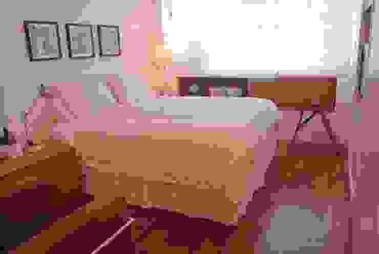 Apartamento Leblon Quartos modernos por Andréa Menezes & Franklin Iriarte Moderno