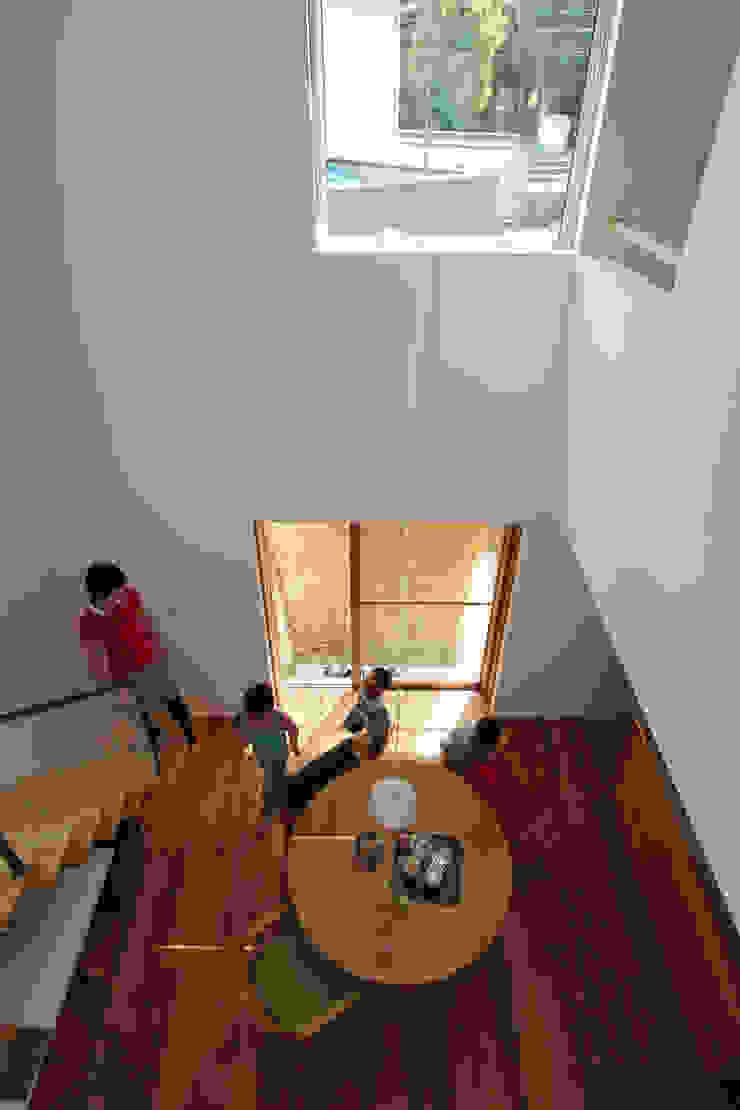 イエニワハナレ 和風デザインの ダイニング の amp / アンプ建築設計事務所 和風