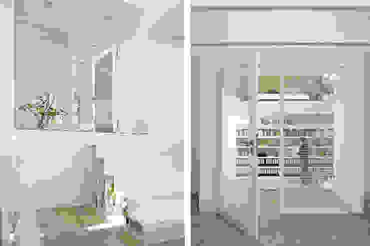 Umbau und Sanierung eines Fachhallenhauses Minimalistische Arbeitszimmer von BUB architekten bda Minimalistisch