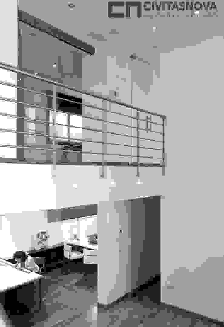 CIVITASNOVA - Pasarela de acceso a oficinas Estudios y despachos de estilo moderno de CIVITASNOVA Moderno