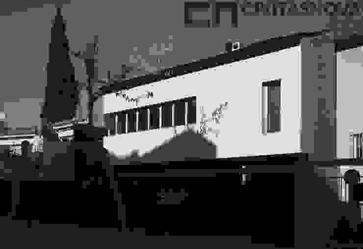 CIVITASNOVA - Fachada de la vivienda Casas de estilo moderno de CIVITASNOVA Moderno