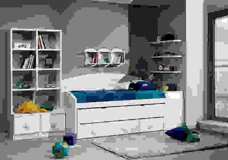 todas las medidas y colores varios tipòs de camas nido,compactos :  de estilo  de muebles dalmi decoracion s l, Moderno