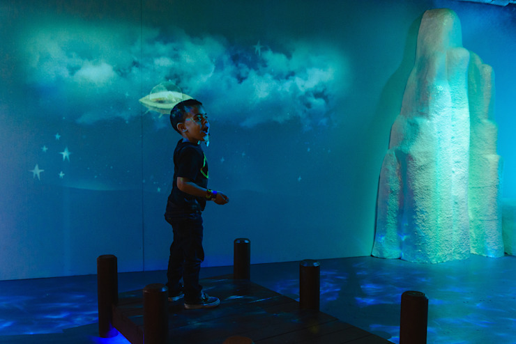Oliver Jeffers Exhibition by Michael Grubb Studio