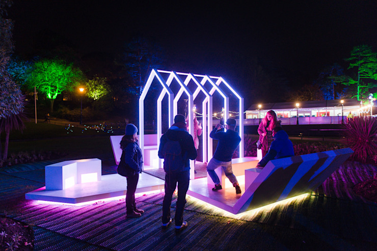 Gardens of Light Festival by Michael Grubb Studio