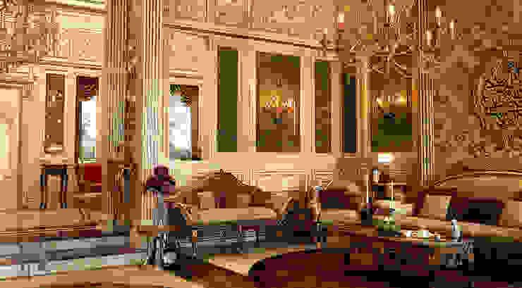 經典風格的走廊,走廊和樓梯 根據 MHD Design Group 古典風