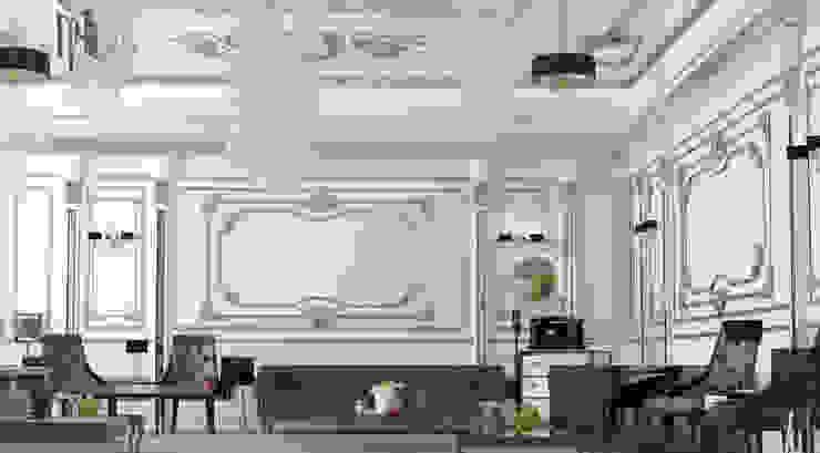Camera_002 Klasik Oturma Odası MHD Design Group Klasik