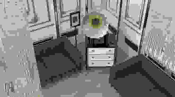 Salas de estar clássicas por MHD Design Group Clássico