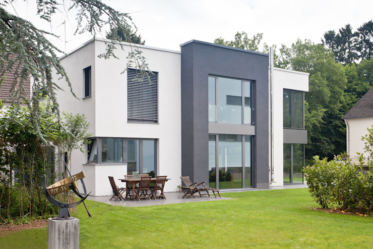 Gartenansicht Moderne Häuser von Beck+Blüm-Beck Architekten Modern