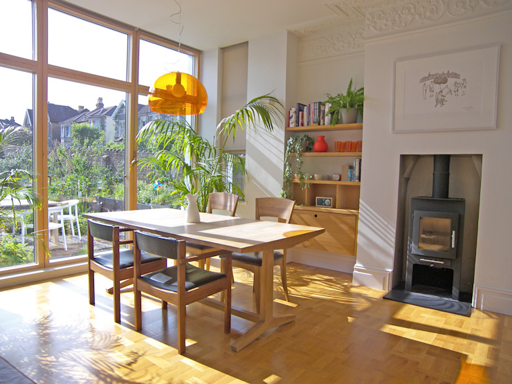 House for a mathematician in Bristol:  Dining room by Dittrich Hudson Vasetti Architects