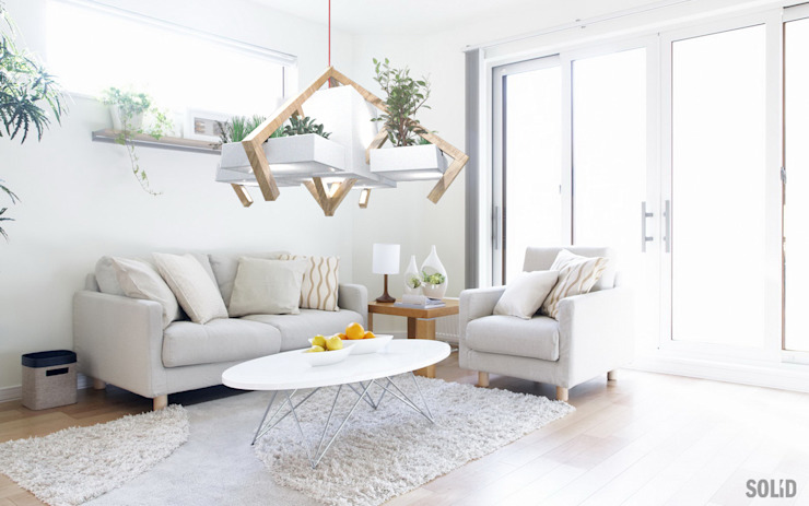 Selfgreen Light:  de style  par Solid Interior Design, Moderne