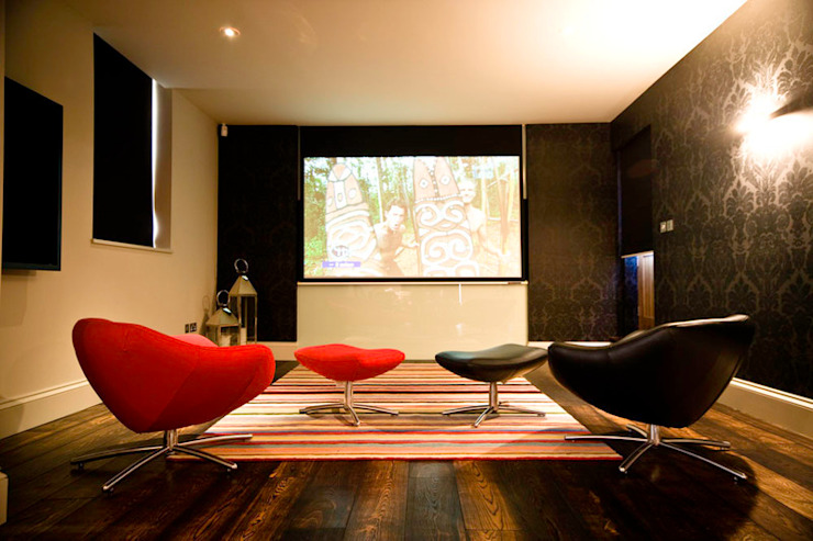 Artcoustic Home Cinema Modern media room by Finite Solutions Modern