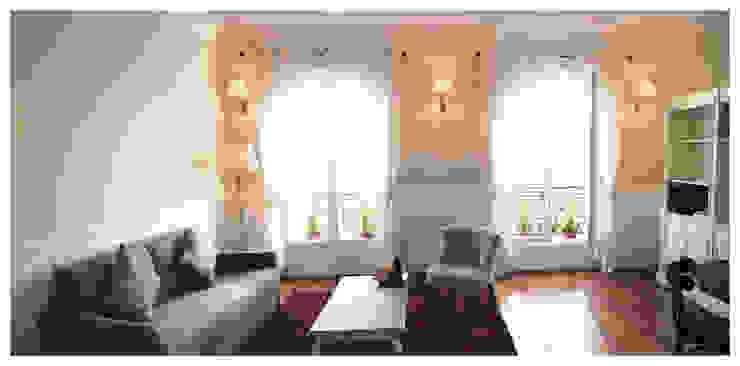 séjour Salon moderne par BMAD-architecture Moderne