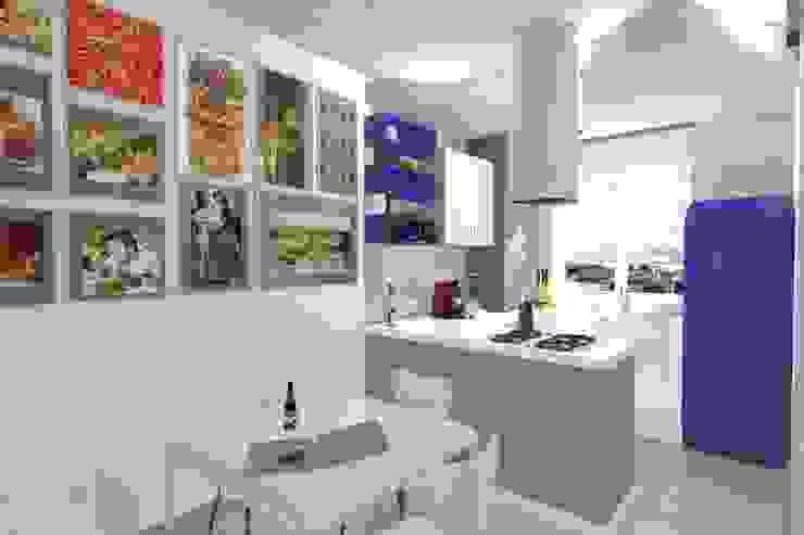 Ristrutturazione, Milano Cucina moderna di Arch. Emanuele Tona Moderno