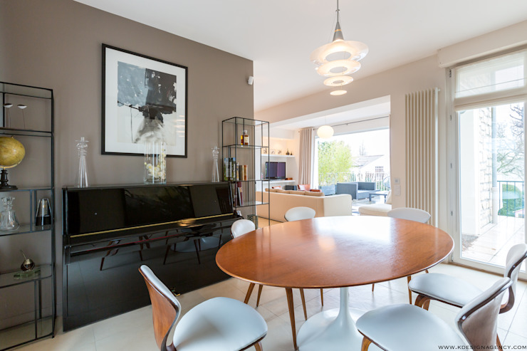 Modern Dining Room by K Design Agency Modern