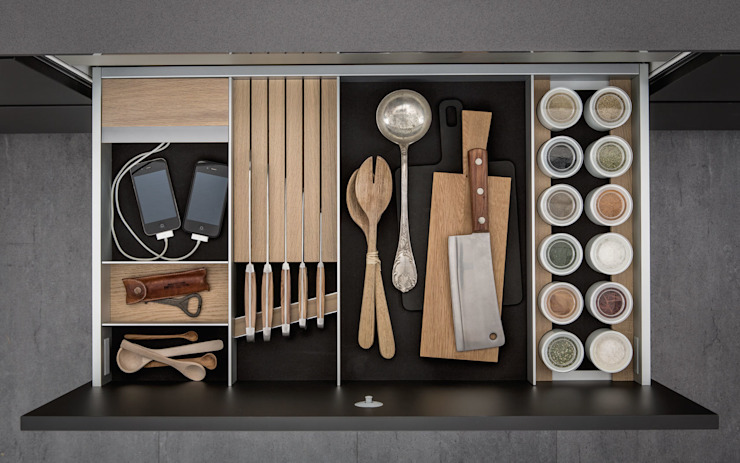Designstudio speziell® キッチン収納