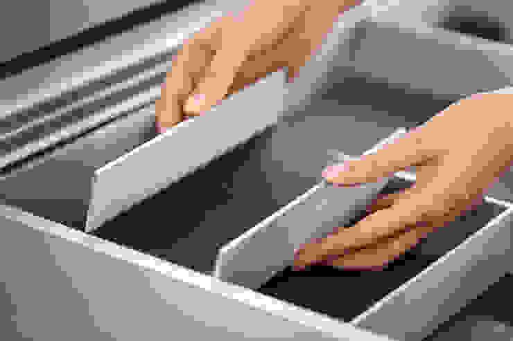 SieMatic ALUMINIUM INNENAUSSTATTUNG Designstudio speziell® KücheAufbewahrung und Lagerung