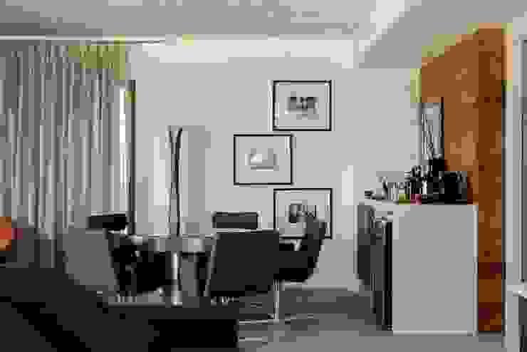 Apto 1000 1000 Salas de estar modernas por Carlos Otávio Arquitetura e Interiores Moderno