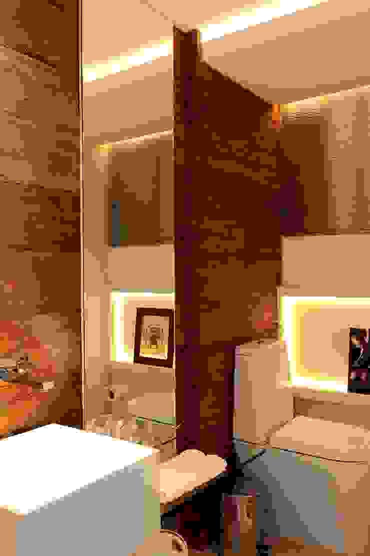 Apto 1000 1000 Casas de banho modernas por Carlos Otávio Arquitetura e Interiores Moderno