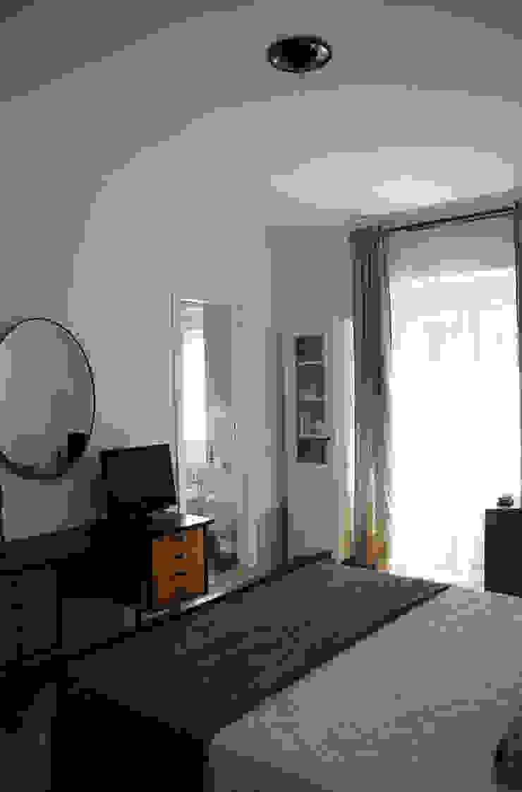 Casa per una giovane coppia Camera da letto in stile scandinavo di Francesca Pierucci Architetto Scandinavo