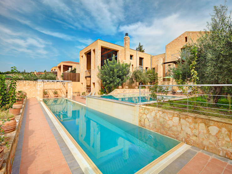 Apokoron Luxury Villas in Crete Country style hotels by studioReskos Country