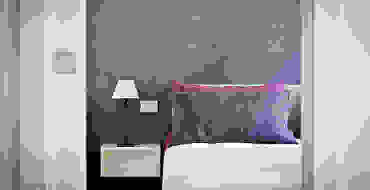 Tetti Romani Camera da letto minimalista di BARBARA BARATTOLO ARCHITETTI Minimalista