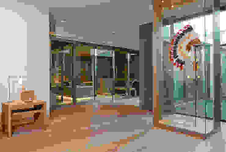 Hammam, Sauna, Balnéothérapie Salle de bain moderne par Atelier TO-AU Moderne