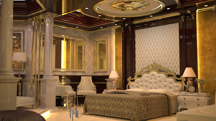 cam_01 Klasik Yatak Odası MHD Design Group Klasik