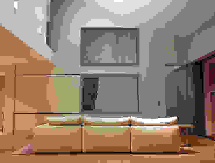 Salon de télévision Salon moderne par Atelier TO-AU Moderne