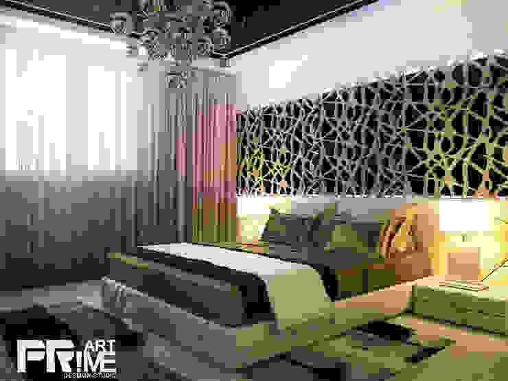 Квартира-студия в современном стиле Спальня в стиле минимализм от 'PRimeART' Минимализм