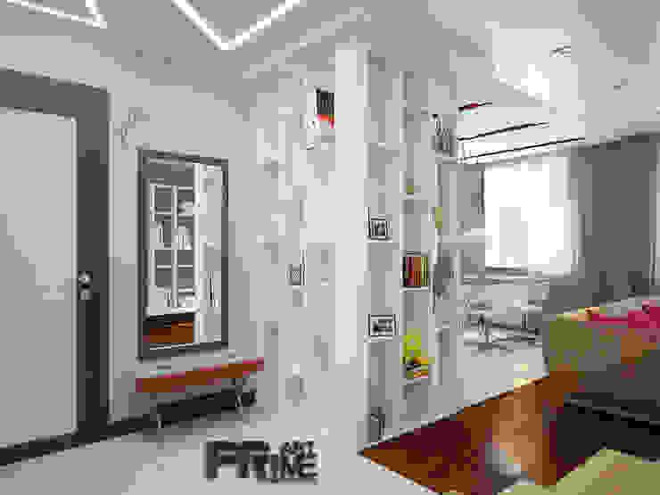 Projekty,  Korytarz, przedpokój zaprojektowane przez 'PRimeART'