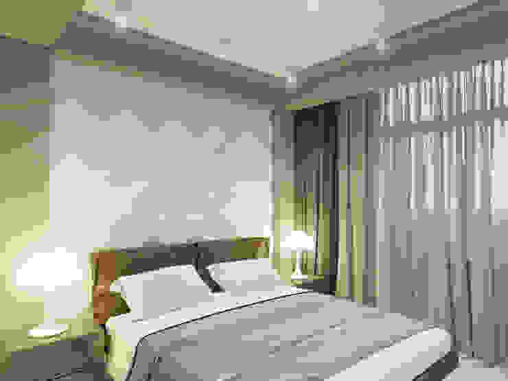 Спальня от Volkovs studio