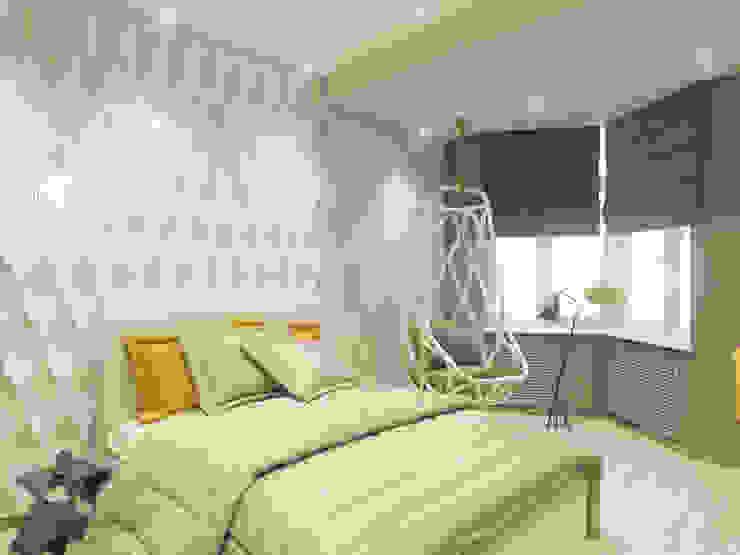 Спальня дочери от Volkovs studio