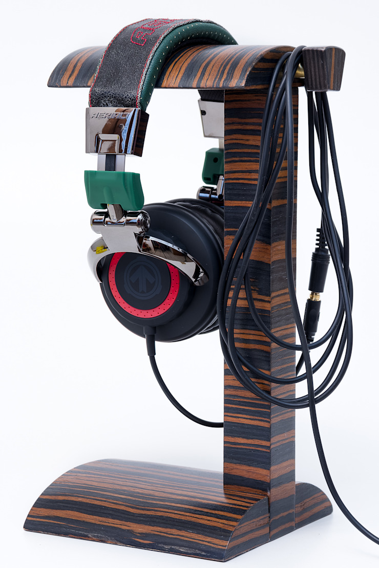 "Headphone Stand "" FOR3 "" de Meble Autorskie Jurkowski Moderno"