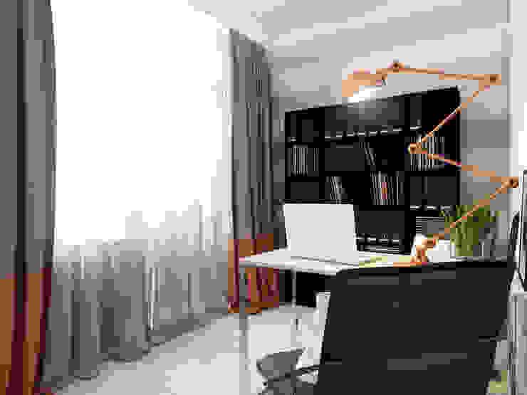 Кабинет от Volkovs studio