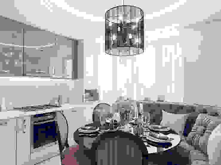 Кухня-столовая от Volkovs studio