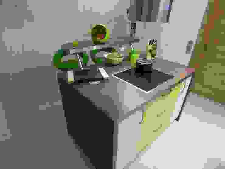 Einbauküche: modern  von Möbel-Tischlerei Jens Zöllner,Modern