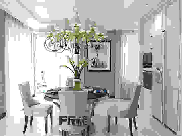 неоклассика 25$ кв.м. Столовая комната в классическом стиле от 'PRimeART' Классический