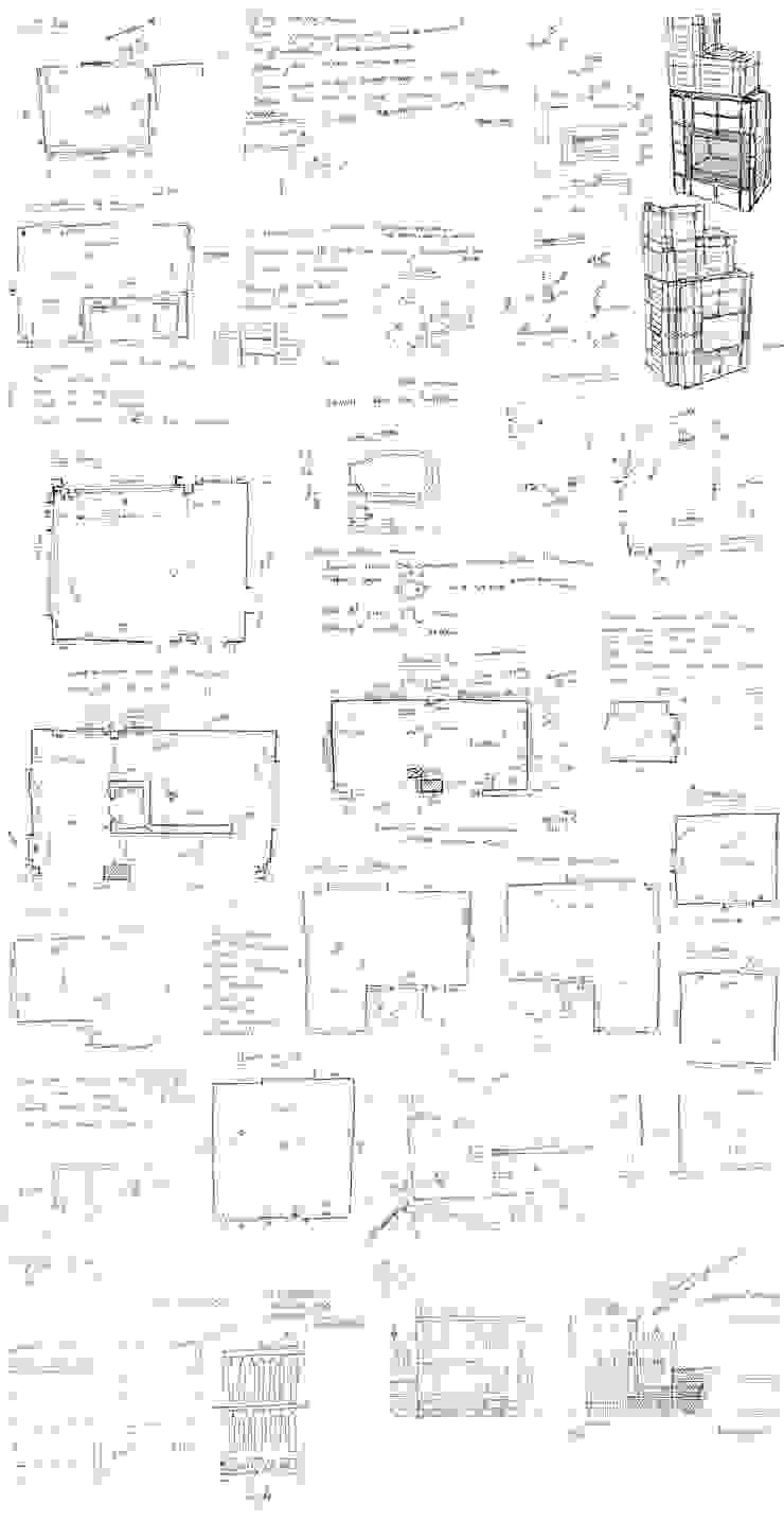 Обмеры и эскизы объекта от design-family