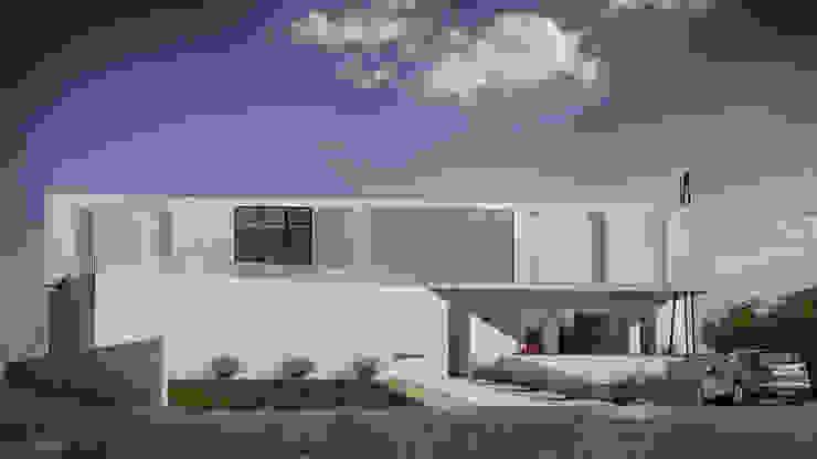 Casas de estilo minimalista de Anastassiya Leonova Minimalista