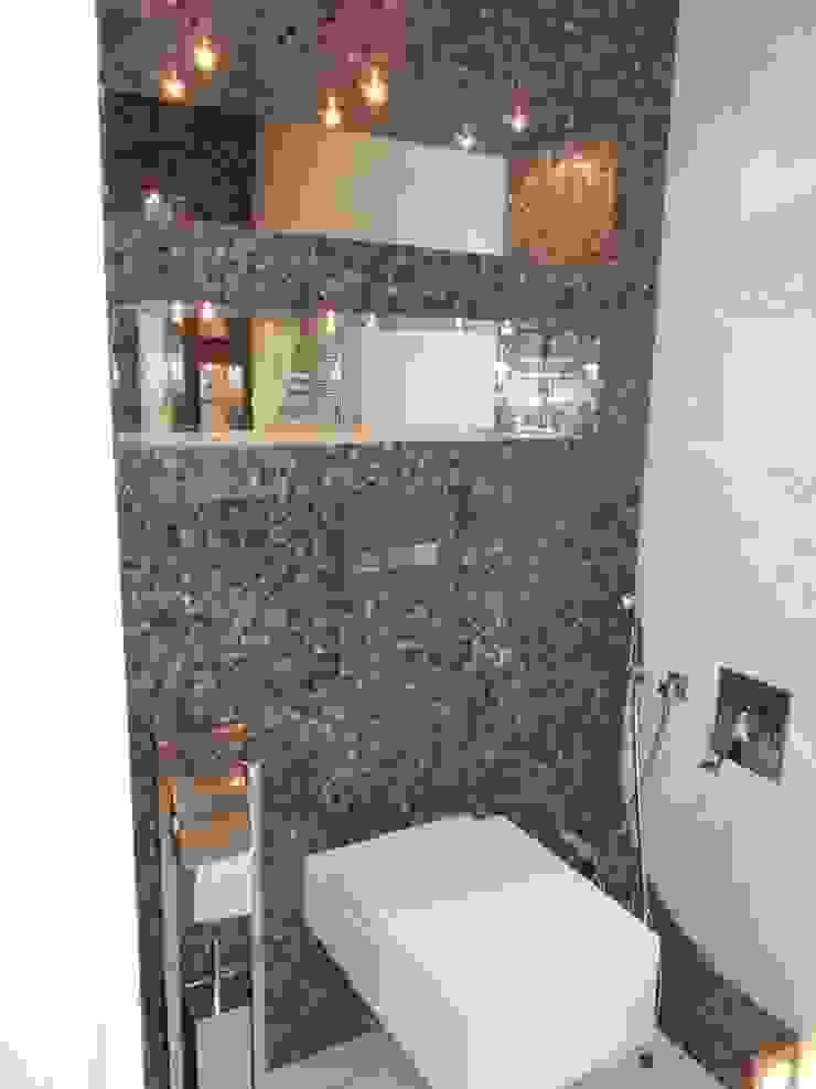 В духе времени Ванная комната в стиле минимализм от Яна Васильева. дизайн-бюро ya.va Минимализм