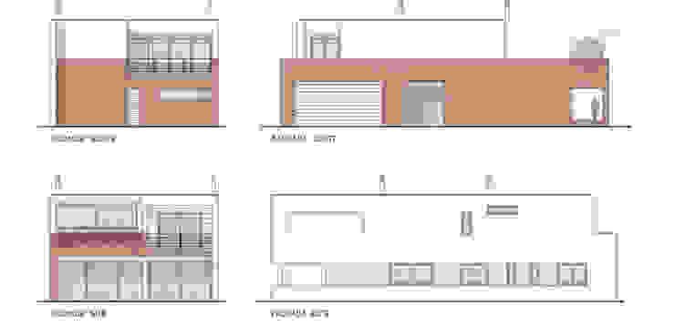 Façades plan by FG ARQUITECTES