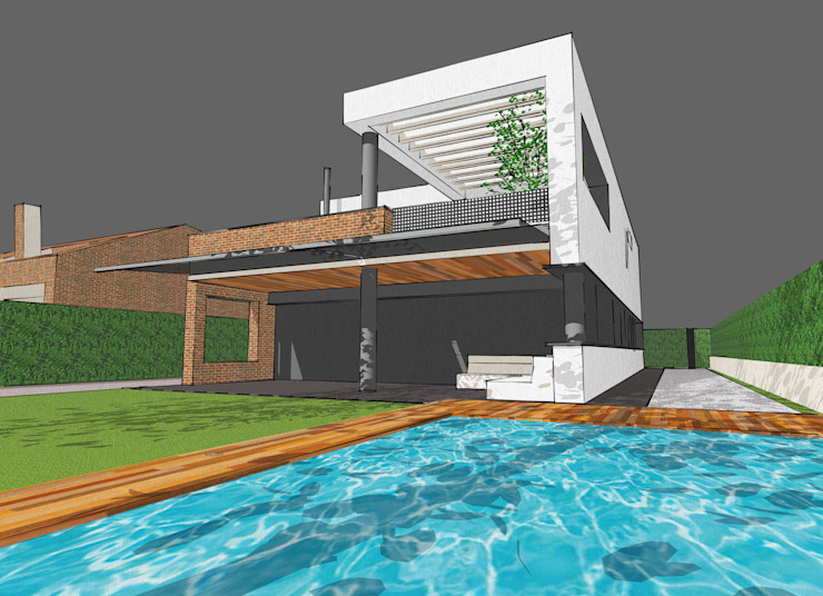 3D view by FG ARQUITECTES