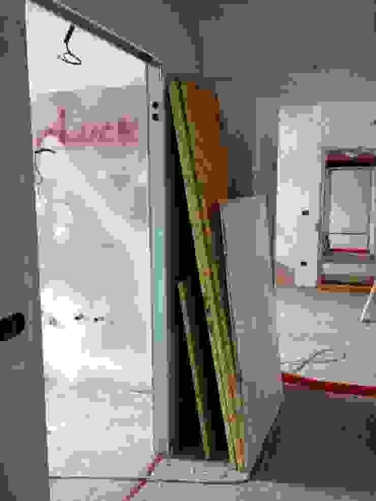 prima e dopo di una casa di Brigi Co.De. House