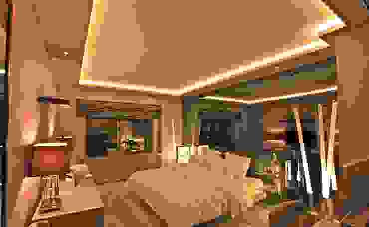 AKMERKEZ EVI / AKMERKEZ HOUSE 2012 Modern Yatak Odası Kerim Çarmıklı İç Mimarlık Modern
