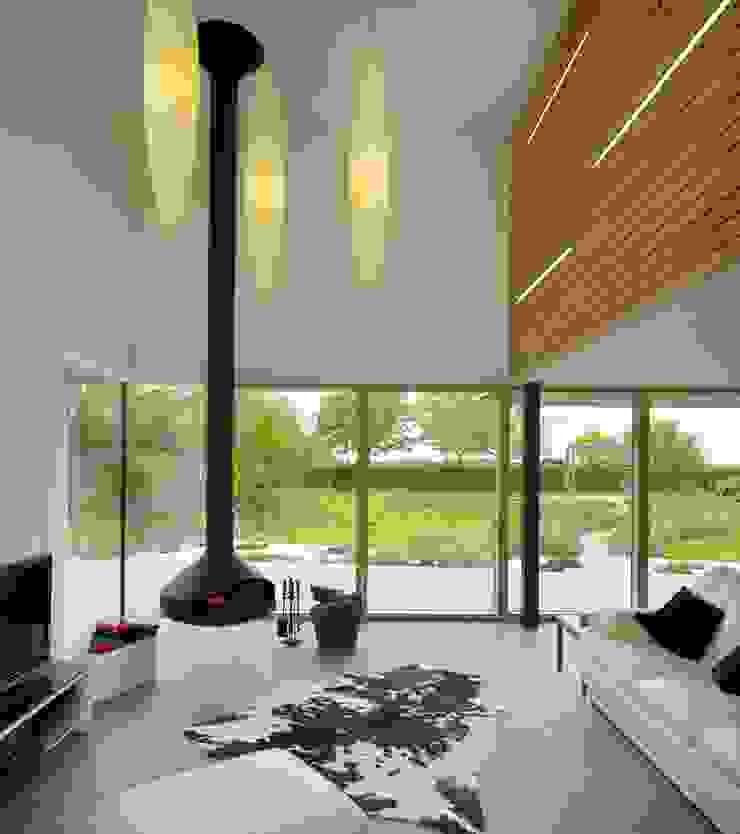 Meadowview Platform 5 Architects LLP Ruang Keluarga Modern