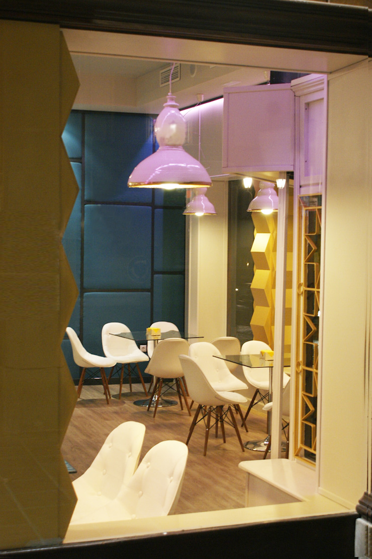 Cafetería Aliatares Gastronomía de estilo ecléctico de moreandmore design Ecléctico