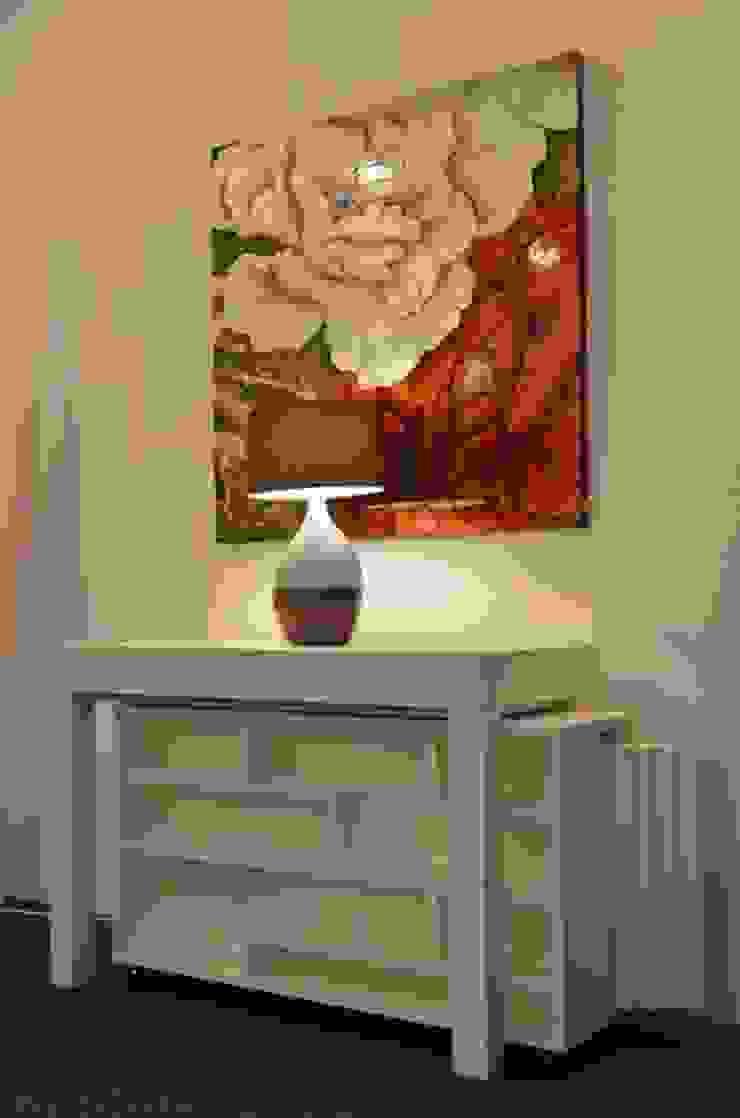 Tavolo consolle Maya Standard 110x50\345 con mobile prolunghe Zen di Arredo Creativo Moderno