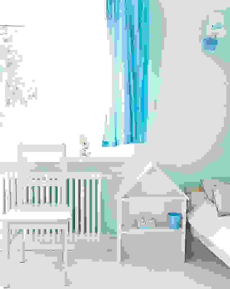 Dom jak z bajki. Skandynawski pokój dziecięcy od Miśkiewicz Design Skandynawski