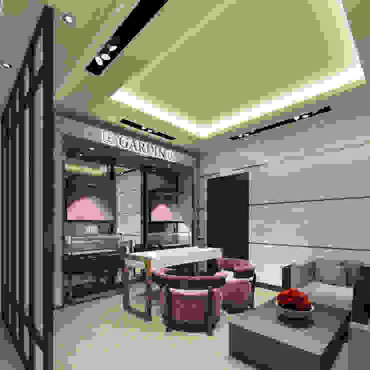 Kerim Çarmıklı İç Mimarlık – GARDIN  2013:  tarz Ofis Alanları & Mağazalar,