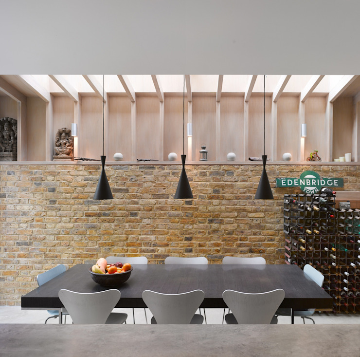 Book Tower House Modern dining room by Platform 5 Architects LLP Modern